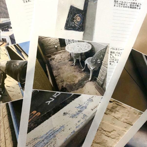 写真付きの工事証明書を発行